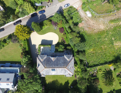 Aerial Property Photography St Mawes